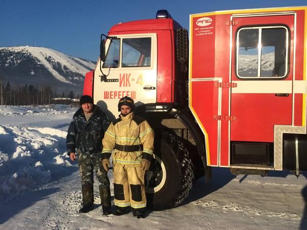 Сотрудники ГУ ФСИН по Кемеровской области спасли из огня четверых человек, один из них - ребенок