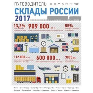 Готовится к выпуску уникальный федеральный гид  «Склады России 2017»