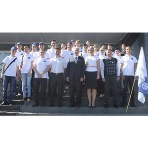 Энергоотряд «Красноярскэнерго» начинает работу