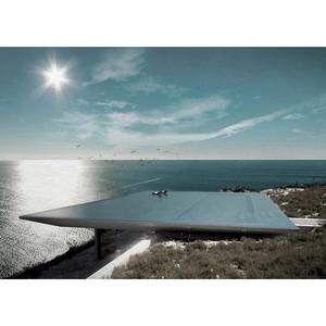 На острове Тинос появился удивительный бассейн-мираж