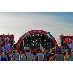 Крышная система Install Profi украсила сценический комплекс фестиваля «Нашествие»