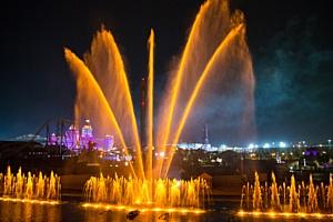 Театр Фонтанов Сочи Парка открыл новый сезон