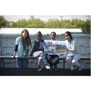 Международный детский пресс-центр программы «Футбол для дружбы» 2019 начал свою работу