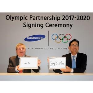 Samsung продлевает партнерство в рамках Олимпийских игр до 2020 года