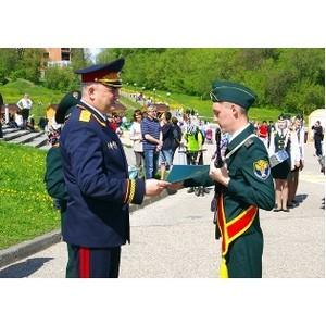 Выпускники первой в стране Детской полицейской академии получили свидетельства об окончании