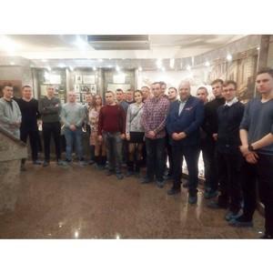 Молодые сотрудники полиции Зеленограда познакомились с историей милиции