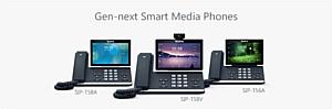Android SIP телефоны Yealink T5 Smart Media Phone Series оптимизируют работу любого бизнеса