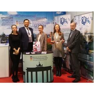 M.E.V. и Vivantes на международном проекте Форума «Российская неделя здравоохранения»