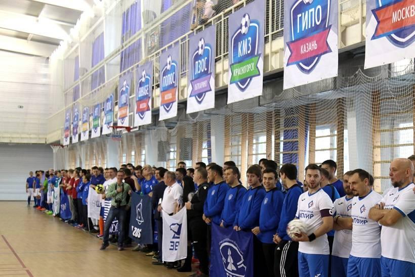 Корпоративный турнир по мини-футболу в Екатеринбурге