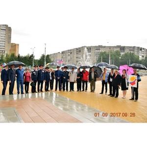 Национально-культурные объединения Чувашии приняли участие в открытии Кадетского корпуса