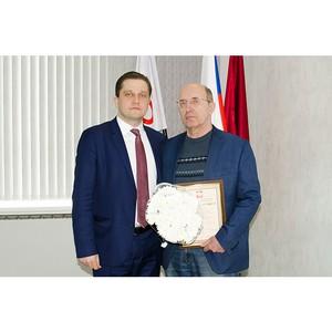 Специалист «Швабе» удостоен награды Минпромторга России