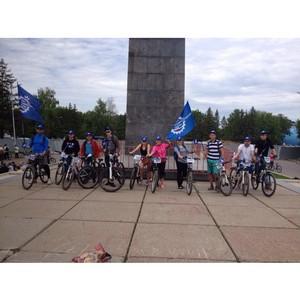 Молодежь СоюзМаш России приняла участие в «Дне 1000 велосипедистов»