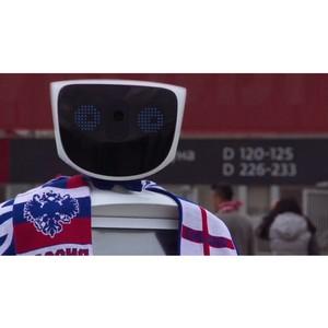 Робот Алантим предложил защиту английским болельщикам на ЧМ-2018