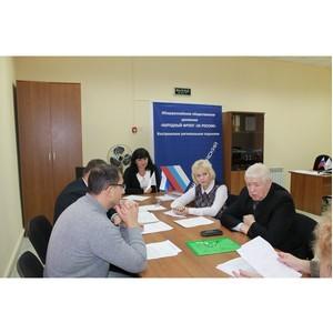ОНФ в Костроме держит на контроле организацию независимой оценки учреждений социальной сферы