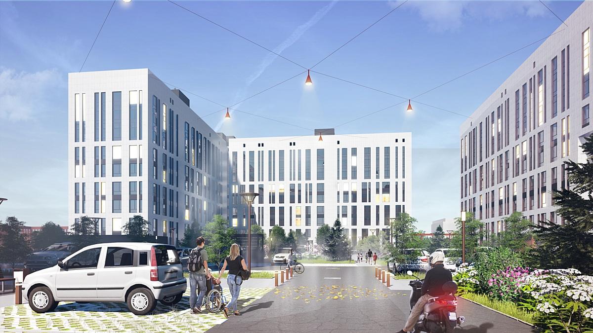 В центре Нового Уренгоя построят уникальный жилой квартал