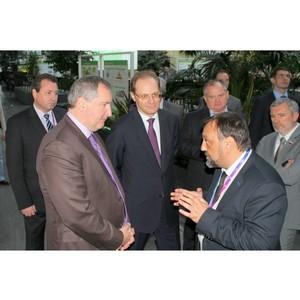 Дмитрий Рогозин впервые посетил Академпарк