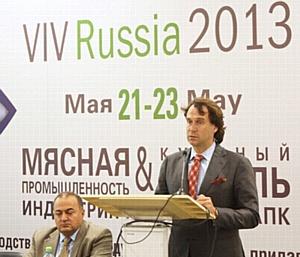 Безопасность и качество мясной продукции обсуждали на VIV Russia 2013