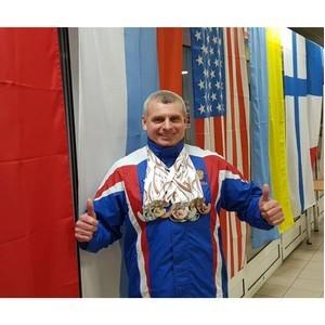 Судебный пристав из Барнаула претендует на звание Абсолютного чемпиона мира по зимнему плаванию