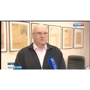 Писатель Александр Лапин пообщался со студентами ТулГУ