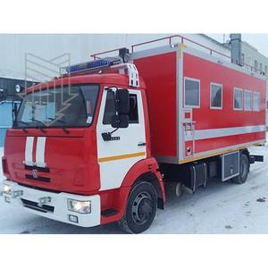 Подарок от Мытищинского приборостроительного завода к Дню спасателя РФ: Пожарный штабной автомобиль