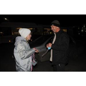 Активисты ОНФ раздали жителям Волгограда световозвращающие элементы