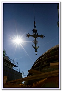Ростовский кафедральный собор заблистал новыми куполами