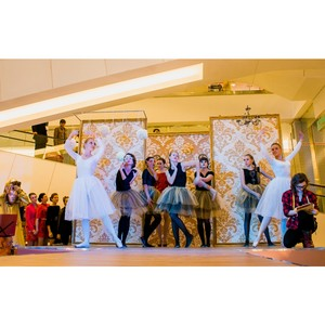 В ТРЦ «Ярмарка» Астрахани состоялся показ коллекций известных брендов