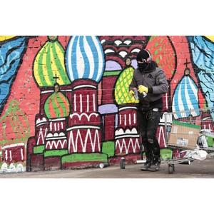 Москву посетил один из самых известных граффити художников