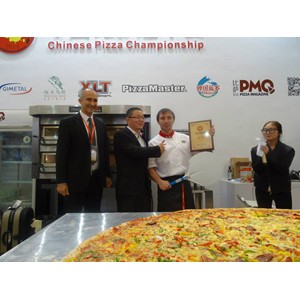 Национальная сборная России заняла III место на чемпионате по пицце в Китае