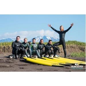Серф лагерь Quiksilver Surf School&Camp на Камчатке