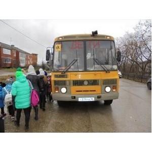 В Свердловской области уральский госавтодорнадзор проверил 173 автобуса, перевозивших группы детей