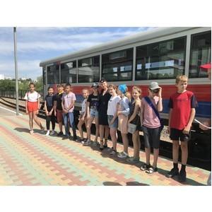 В Волгограде прошла детская тематическая познавательная игра по безопасности