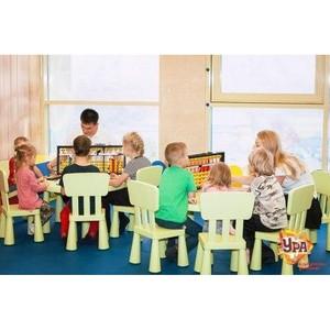 Изучаем, творим и играем в детском клубе «Ура» в ТРЦ «Аура»