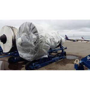 Карго-Экспресс, член альянса ACEX, отправили двигатели Боинг на ремонт.