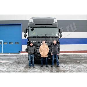 """""""Умный"""" DAF XF Super Space Cab отправился в первый рейс"""