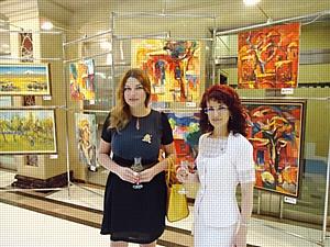 Выставка картин «Струны памяти» в Бизнес-центре «Никольская Plaza»