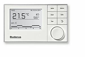 Новое поколение автоматики Buderus для систем отопления NSC – New System Control