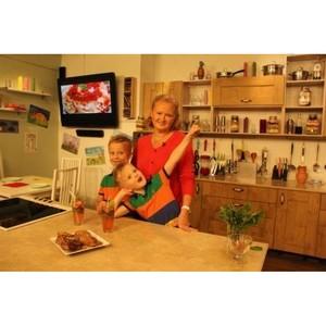 Вкусные уроки Фифы и Дуси на телеканале «Кухня ТВ»!