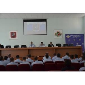 В отдельном батальоне ДПС ГИБДД УВД по ЗелАО подведены итоги работы за первое полугодие