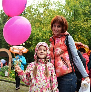 «Баскин Роббинс» выступил партнером празднования Дня города в Измайловском парке