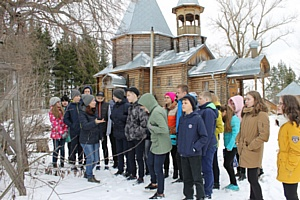 Кировские активисты ОНФ организовали экскурсию для школьников в село Никульчино