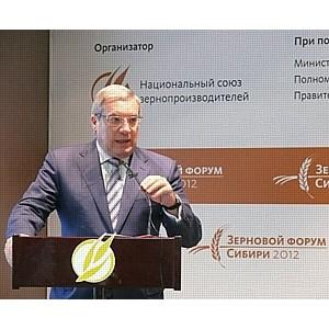Полпред президента в СФО обсудил с аграриями Сибири проблемы развития отрасли