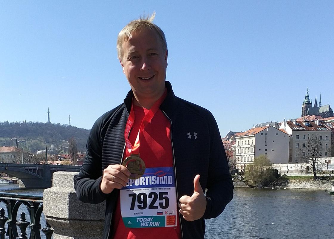 Команда МЕДСИ поддержит БФ «Синдром любви» на Московском марафоне