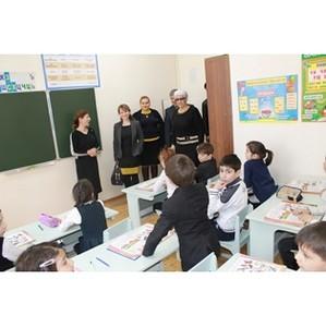 Активисты ОНФ посетили школу-интернат 2 в Каспийске