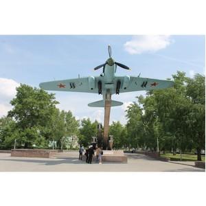 Активисты ОНФ озабочены состоянием памятника военным самолетостроителям в Воронеже