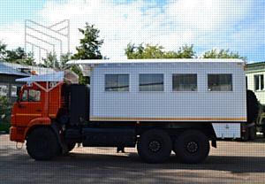 К самым большим дырам в Земле: Автобус вахтовый для доставки рабочей бригады компании Алроса