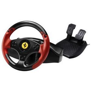 Thrustmaster представляет новый гоночный руль с лицензией Ferrari