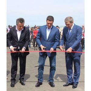 Арсен Гаджиев принял участие в открытии воркаут-площадки