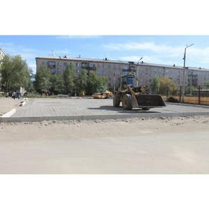 ОНФ в Тыве оценил ход работ по благоустройству дворовых и общественных пространств в республике