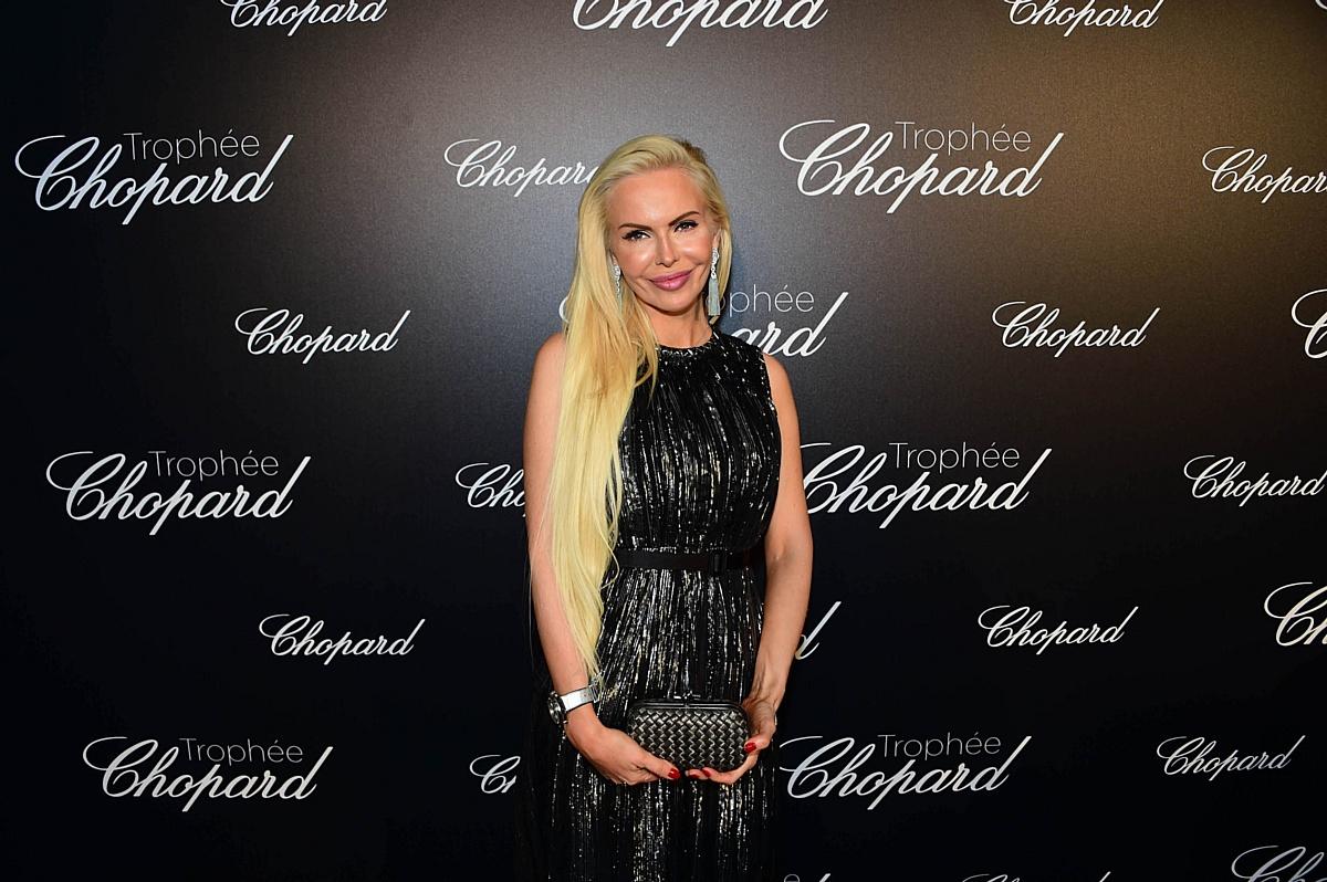 Алиса Лобанова на вечеринке Chopard